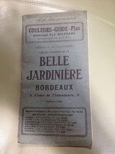 FRENCH transportation WW1 map BORDEAUX France World War 1 H A Goddard 1916 rare #BordeauxCityTransportation