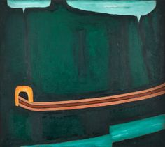 Starak Foundation - Kolekcja - Jerzy Nowosielski Unusual Art, Green Art, Solitude, Painters, Abstract Art, Arch, Foundation, Polish, Inspire