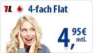 Talkline Vodafone Talk Special + Game Flat - 4,95€ mtl.