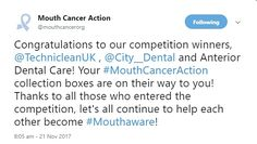 We love winning competitions! Dental Care, Competition, Congratulations, Cancer, Thankful, Let It Be, Dental Caps, Dental Health