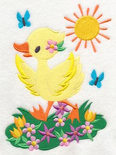 Machine Embroidery Designs at Embroidery Library! - Color Change - J7281 - 2 sizes