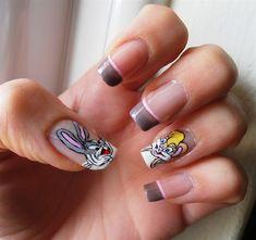 Bugs Bunny by barbaras - Nail Art Gallery nailartgallery.nailsmag.com by Nails Magazine www.nailsmag.com #nailart