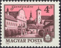 Building type of Scott 2330 Issued 1980 June Perf. Postage Stamps, Taj Mahal, Baseball Cards, Building, Cityscapes, Romania, June, Europe, Hungary