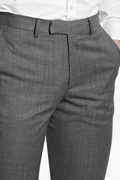 Sharkskin Suit Trousers - Mens Trousers - French Connection