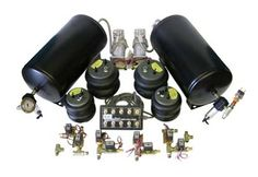 Air Ride Suspension: Classic Cars: Fast Bag Kits #11-6238 3/8 front & back kit    www.coolcars.org air, air bags , air ride systems , air system , air systems , minitruck , trucks, cce equipped , hydraulics system , cce , cce hydraulics , cool cars, cool , cars, louisville , kentucky , lowriders, low low , lowrider , setup , hydraulic setup , low , custom , cars, car , wires wheels , spokes , switches