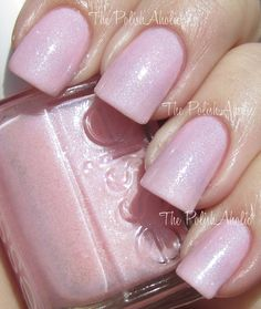 Pink-A-Boo- Essie : I just bought this tonight at CVS and it is the best pink I have ever bought. It is a soft pink with shimmer in it! <3 IT