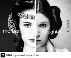 Mother and Daughter. #starwars
