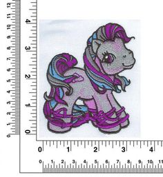 Embroider It Yass Free Embroidery Design: My Little Pony 3.38 inches H x 3.94 inches W