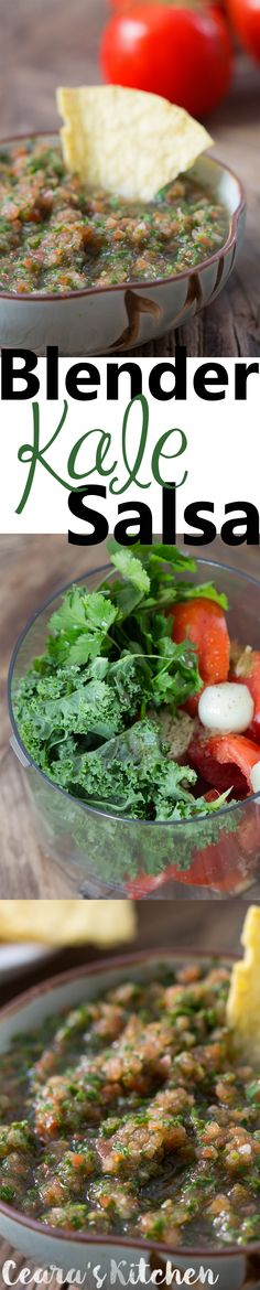 fresh salsa blender