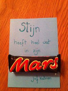Jij hebt heel wat in je MARS! Voor op het einde van het schooljaar?