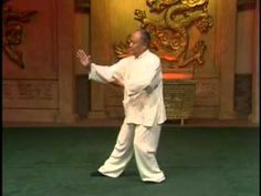 Yang Style Taijiquan 103 form part 1 by grandmaster Yang Zhenduo and master Yang Jun