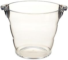 $13.05-$18.99 Prodyne AB-11 Acrylic Grand Wine Bucket, Clear - This over-sized elegant wine bucket is large enough to accommodate four bottle of your favorite vintage while you entertain your guests in style. Durable crystal clear acrylic. http://www.amazon.com/dp/B001I2GTAO/?tag=pin2wine-20