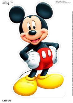 Uau! Veja o que temos para Centro de Mesa Mickey 3 22