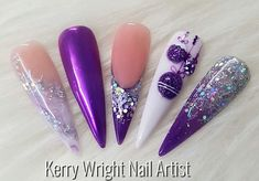 Modern christmas by Kerry Wright Nail Artist