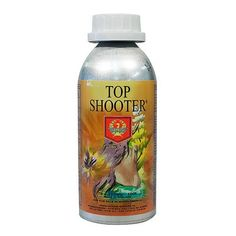 H&G Top Shooter 250 ml  $69.99 Top Shooter is designed to stimulate flower growth in the last three weeks of flower. Top shooter is preserved in a lightproof canister to ensure maximum freshness. At only 5 mL/gal, Top Shooter will dramatically bulk and mature your ripening flowers for a heavy yield.