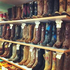 I love cowgirl boots.