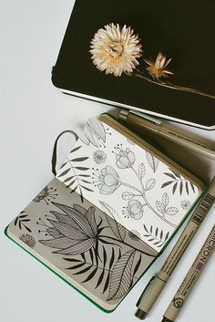 I'm going to look for one of these tiny sketch books. This one is: hellanne: sketchbook no.21 (by oanabefort)