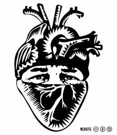 Resiste Corazón by #RexisteMX in Mexico (via Vandalog)