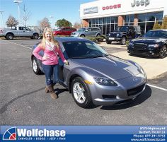 Happy Anniversary to Casey Webb on your 2004 #Mazda #Rx-8 from Albert Brown and everyone at Wolfchase Chrysler Jeep Dodge! #Anniversary