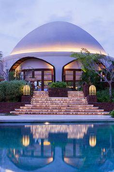 India-meets-Indonesia at this 26-acre resort. #Jetsetter Vivanta by Taj Bekal (Kerala, India)