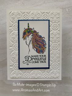 A Little Sparkle; Aromas and Art - Su Mohr, Independent Stampin' Up! Demonstrator, and Independent Young Living Distributor Prim Christmas, Stampin Up Christmas, Kids Cards, Baby Cards, Horse Cards, Kids Birthday Cards, 21st Birthday, Paper Smooches, Stampin Up Catalog