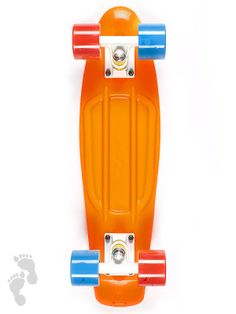 Limited Edtion Tournament Pack coloured skateboards. Ride your nations colours with these new cruiser releases | Holland | twobarefeet.co.uk