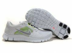 best loved adc34 3304e 2012 Nike Free Run 5.0 V3 Men Shoes White Green Nike Running, Running Shoes  For