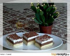 Ledové řezy  v recepte použita šľahačková smotana a stužovač