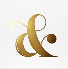 I've always liked the design of the ampersand and this one is particularly nice.