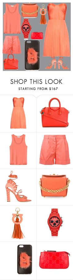 """""""The best things in life are free"""" by denisee-denisee ❤ liked on Polyvore featuring Maria Lucia Hohan, Givenchy, Paul & Joe, Aspesi, Paula Cademartori, Alexander McQueen, Salvatore Ferragamo, Toy Watch, Fendi and Gucci"""