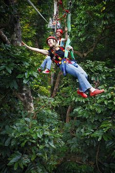 The world's best zip wire rides