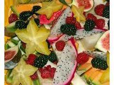 Exotisch fruit in putje winter
