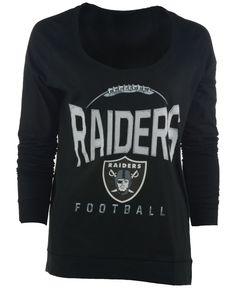 NFL Oakland Raiders Antigua Women's Hustle Lace-Up Hoodie ��?? ...