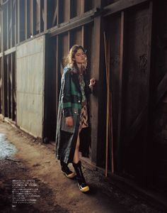 visual optimism; fashion editorials, shows, campaigns & more!: miu miu: iza bielawska by osamu yokonami for spur october 2014