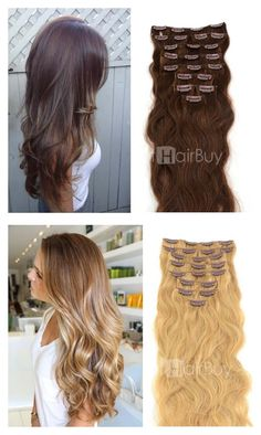 Super soft curly hair you must have in 2015! Hair extension help you to have these look in one min!