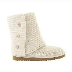 cheap UGG boots, cheap Women UGG Classic Cardy 5819 White