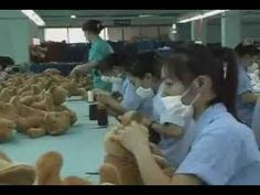 """Santa's Workshop  - Inside China's Slave Labour Toy Factories SANTA""""S ELVES ARE SLAVES!  EXPECT MORE OF THIS WHEN THE TOP SECRET TRANS-PACIFIC PARTNERSHIP IS RAMMED THROUGH CONGRESS.   The TPP will make NAFTA look like heaven!   AND EXPECT MORE AMERICAN FACTORY JOBS TO GO BYE BYE"""