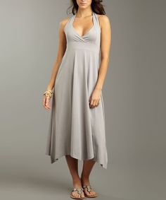 Simplicity and style combine to create the perfect mix of casual and chic in this fashion-forward dress. Luxuriously soft viscose from bamboo and organic cotton ensure all-day comfort, while spandex adds stretch for an extra-flattering fit.70% viscose from bamboo / 20% organic cotton / 10% spandexMachine wash; tumble dryImported