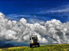Boloff off road gezilerinden çekilmiş, Land Rover Defender fotoğrafı.