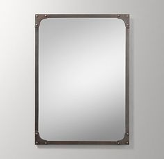 Industrial Rivet Dresser Mirror