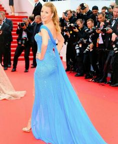 Blake Lively in Atelier Versace - Cannes 2016
