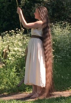 VIDEO - The long hair swing