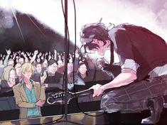 Sakuma Rei, Rainbow Light, Diabolik Lovers, Ensemble Stars, Anime Guys, Knight, Fan Art, Manga, Illustration