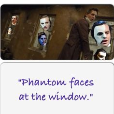 HAHA exactly what I thought of when hearing that song... Did u see Ramin Karimloo's face?