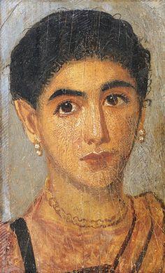 Portraits du Fayoum : un regard de l'au-delà - Agora Erasmus
