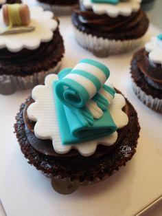 Cupcakes tema Lavanderia - Laundry Theme