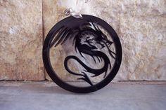 black dragon by Greek Art at Etsy $6.20