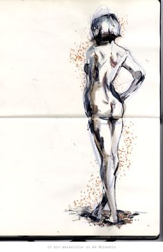 Life Drawing Anyone? by Connie Lim, via Behance