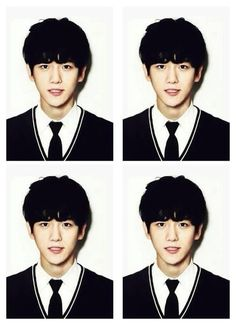 Baekyeol, Chanbaek, Baekhyun Wallpaper, Kpop Profiles, Id Photo, Exo Members, School Photos, Exo K, Girls Generation