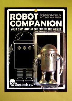 """End of the World"" robot companion. :)"